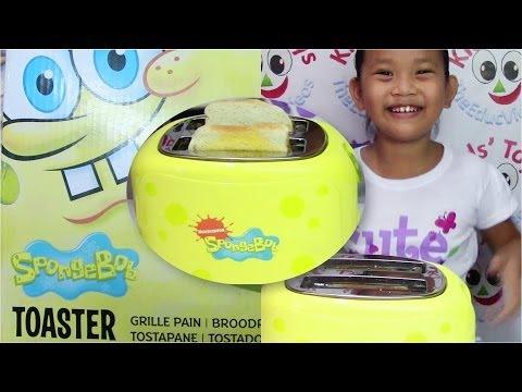 SpongeBob SquarePants Toaster by Nickelodeon - Kids' Toys