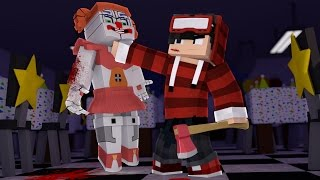 Minecraft FIVE NIGHTS AT FREDDY S SISTER LOCATION 13 MATEI UM ANIMATRONIC