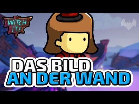 Bild an der Wand - ♠ Witch It ♠ - Deutsch German - Dhalucard