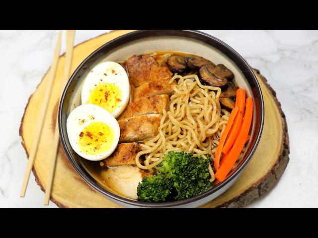 জনপ্রিয় কোরিয়ান রামেন  | Korean Ramen Noodles | Instant Korean Chicken Ramen Noodles | Ramen Recipe