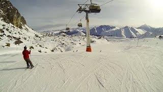 видео Горнолыжные курорты в Альпах: Италия, Швейцария, Австрия
