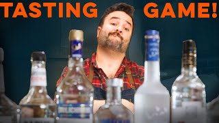 Blind taste and rank 10 vodkas- PUNISHMENT | How to Drink