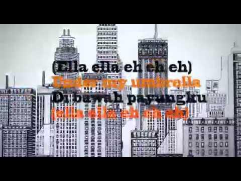 Rihanna Ft Jay Z   Umbrella Terjemahan lirik bahasa indonesia