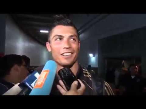 FUNNY. Cristiano Ronaldo vs. Stupid Reporter || Fábio Coentrão.