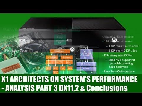 Xbox One - Architects Explain X1 Hardware - DX11.2 & ESRAM Use - Analysis & Conclusion Part 3