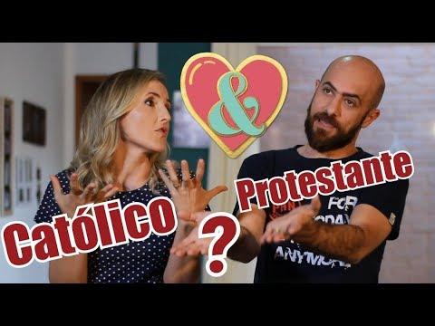 Católico(a) pode namorar com protestante?