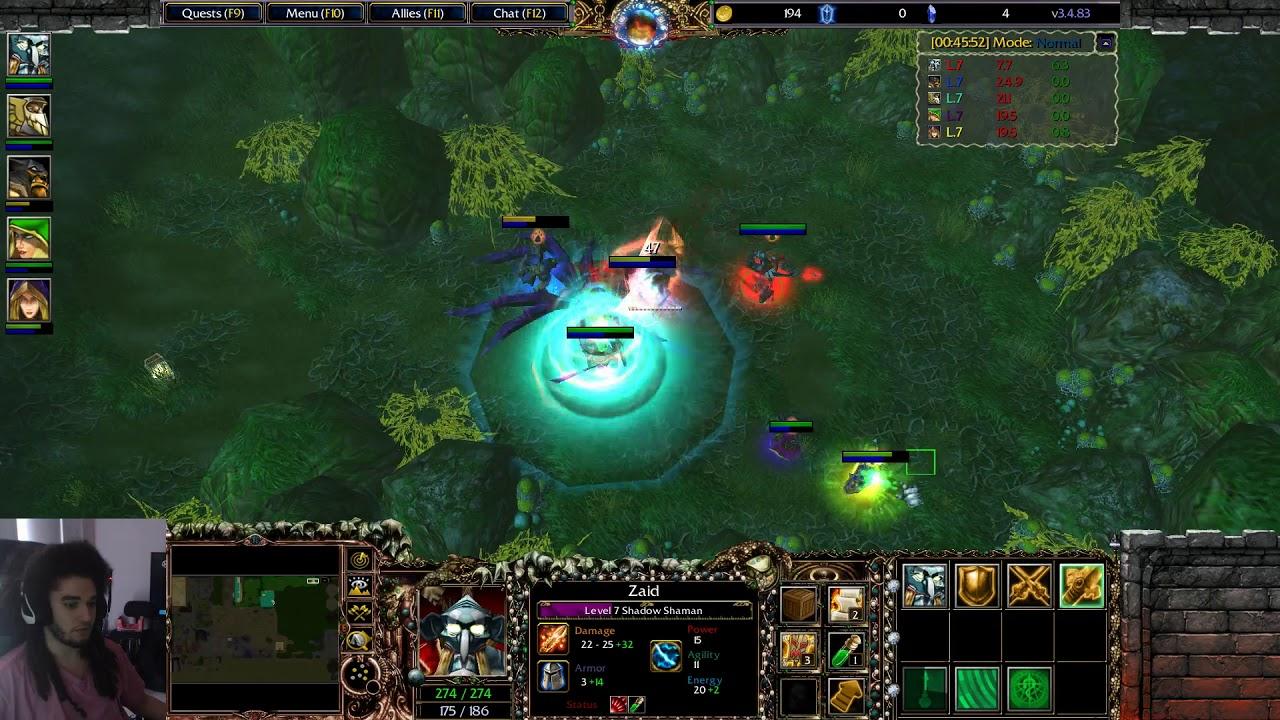 Warcraft III - Tkok RPG Act 1 Boss - Broodmother - Pohx Kappa