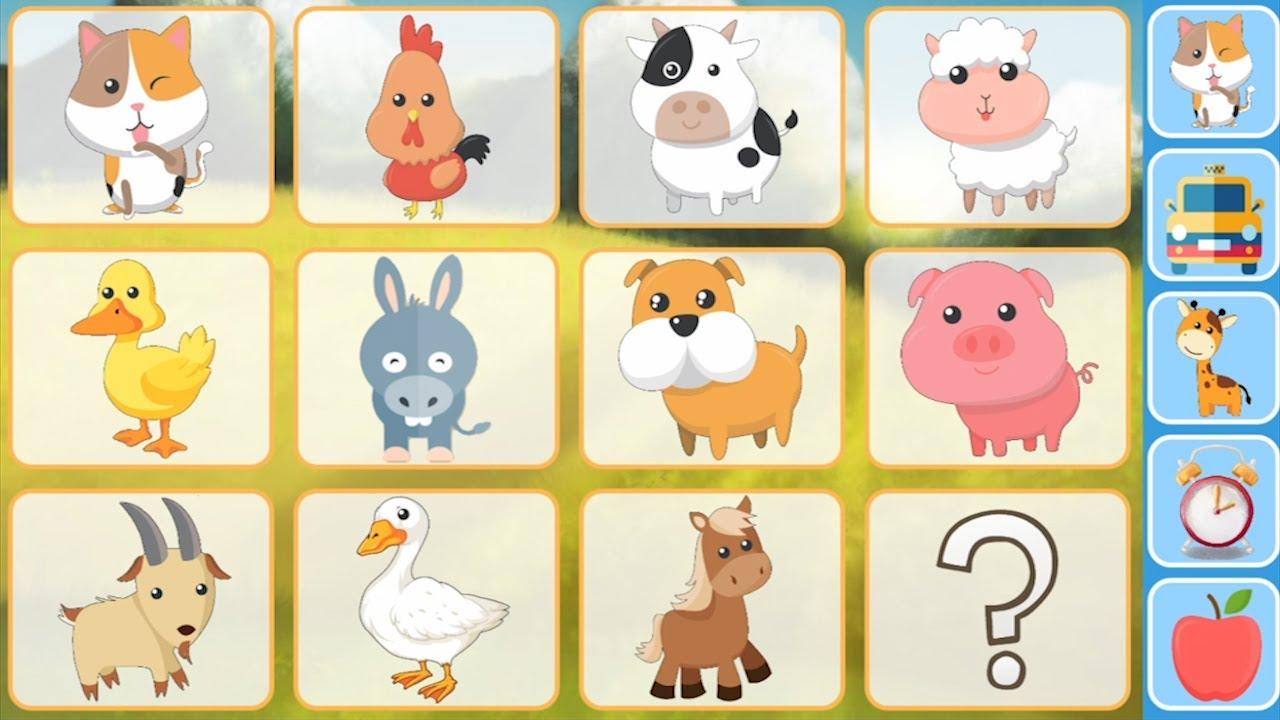 Animais em Inglês para crianças / Animals in English for kids