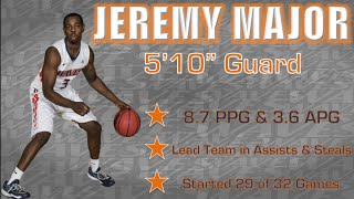 Jeremy Major 2014-15 Season Highlights