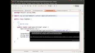 02..01 Spring Framework - Aspect Oriented Programming 1