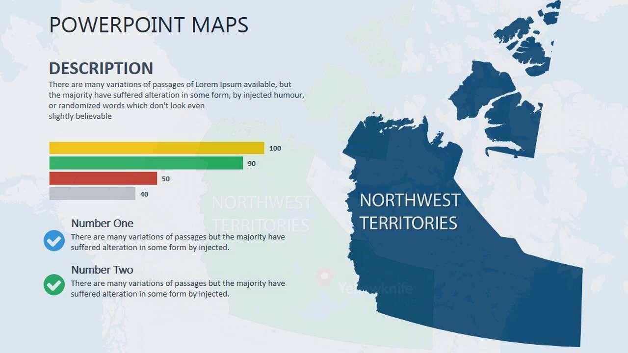 northwest territories canada powerpoint maps