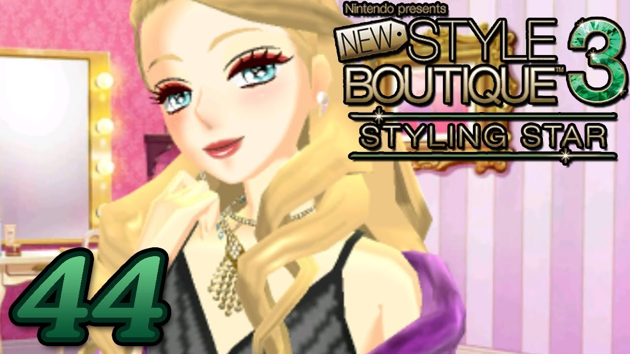 New Style Boutique 3 Styling Star ~ ANGELIQUE AND ROSIE LIKE COWS Part 44 ~  Gameplay Walkthrough