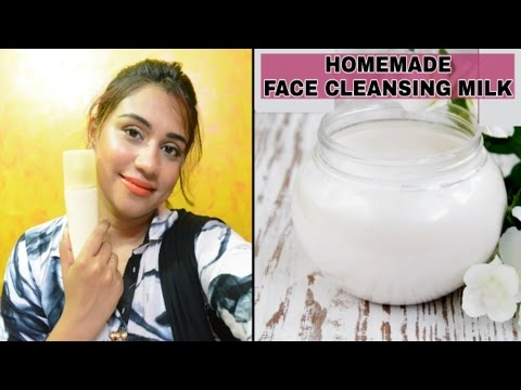 DIY Cleansing Milk | DIY Face Cleanser | How To Make Face Cleanser At Home | Homemade Face Cleanser