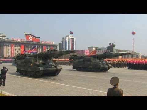 Thumbnail: North Koreans celebrate 'Army day'