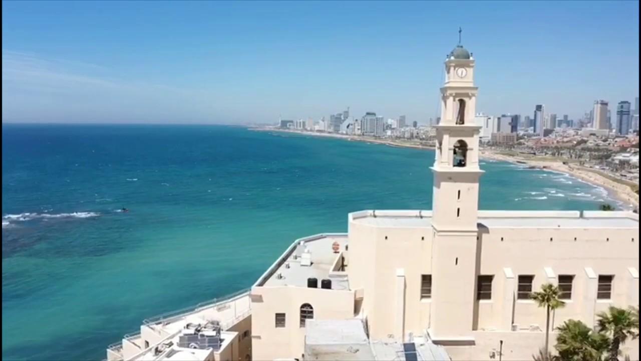 Jaffa z lotu ptaka - dron Mavic 2