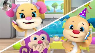 Laugh and Learn | A Party Surprise with Fisher Price - Fun Kids Songs with BongKidTV 3101