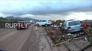 Spain: Clear-up op underway following deadly Mallorca flash flooding