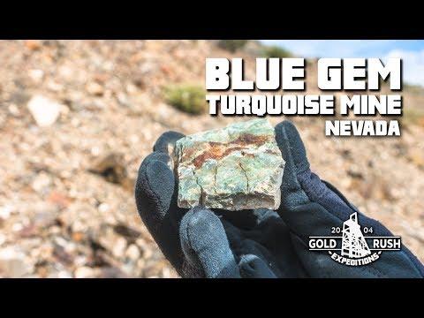 Blue Gem Turquoise Mining Claim - Nevada - 2017