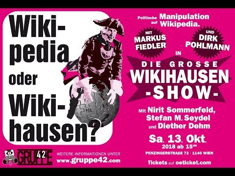 Die grosse Wikihausenshow - Wikipedia oder Wikihausen? 23.11.2018 - Bananenrepublik