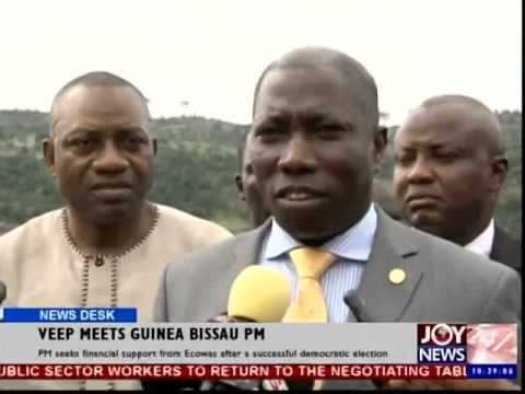 Veep meets Guinea Bissau PM - News Desk (27-10-14)