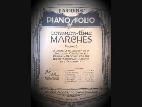 PHOTOPLAY SILENT MOVIE MUSIC : Miss Frivolity March