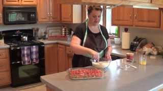 Rhubarb Dessert: Cooking With Kristin