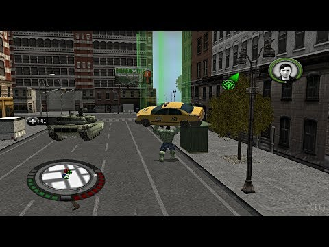 The Incredible Hulk PS2 Gameplay HD (PCSX2)