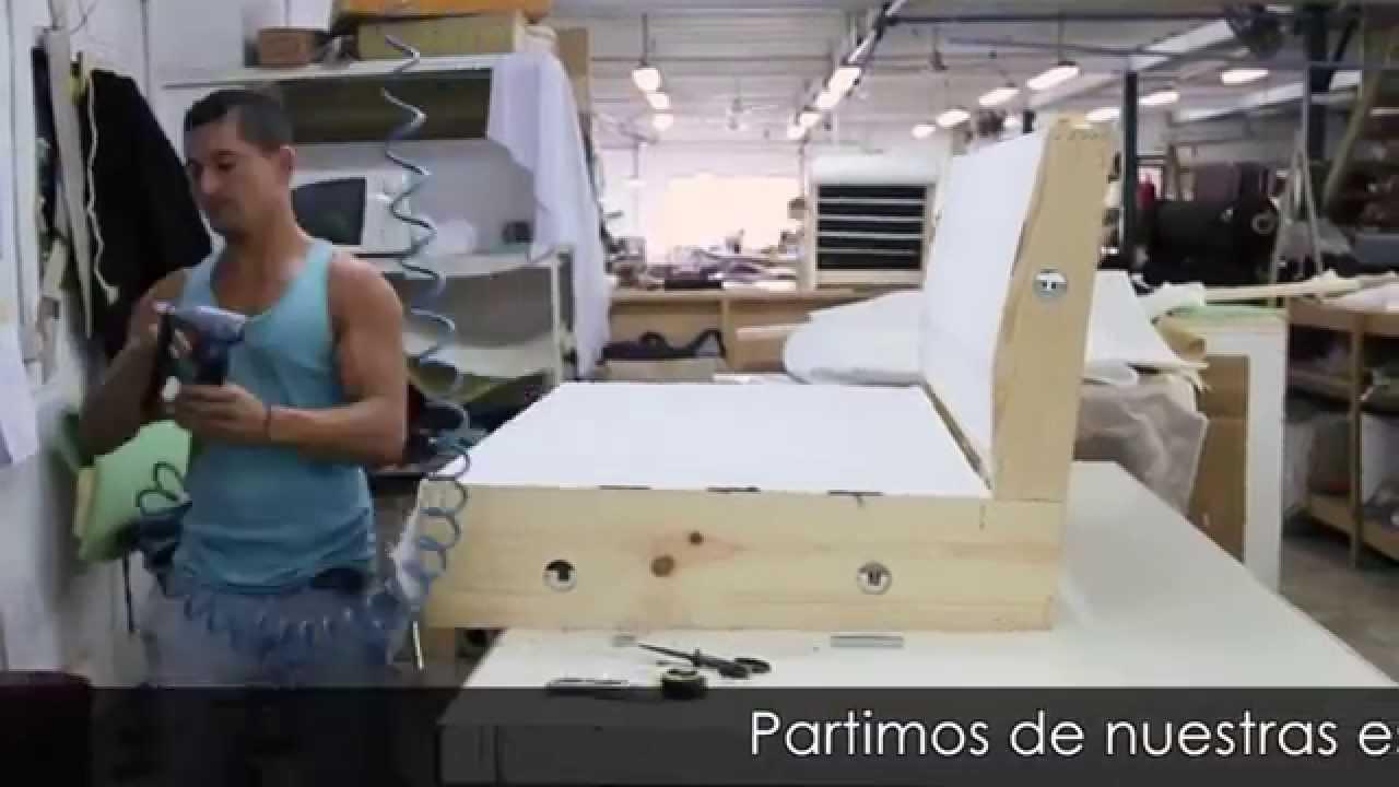 Tapizado sof gama superior youtube - Como forrar muebles con tela paso a paso ...