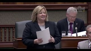 MPP Thompson Debates Bill 92