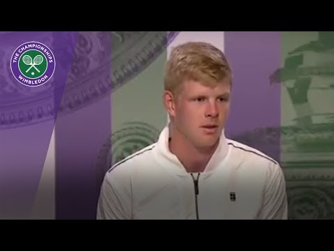 Kyle Edmund Wimbledon 2017 first round press conference