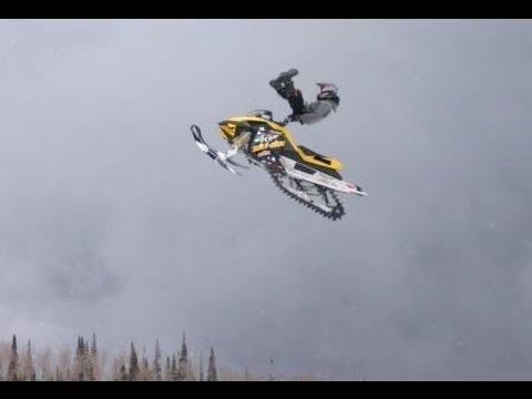 Polaris Iq Ski Doo Mxz X Sdi Jumping 2013