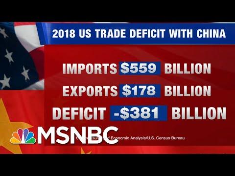 Stocks Plummet As Donald Trump Escalates Trade War With China, Attacks Fed Chair | Hardball | MSNBC
