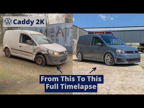 VW Caddy  2k DIY Restoration Full Timelapse – 4 Months in 18 Mins – Volkswagen