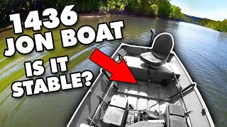 How Stable Is My 1436 Jon Boat (Stability Test)