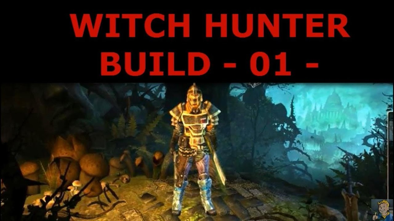 POISON WITCH HUNTER BUILD 01 - HOW TO DO IT VLOGG
