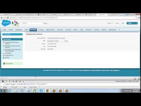 Forms in Visualforce | Command Buttons & Command Links | Standard List Controller | by Jeet Singh