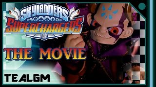 Skylanders Superchargers - THE MOVIE! Every Cutscene From The Game!
