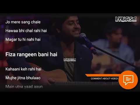 kabhi-yaadon-mein-aao-arijit-singh-full-song-with-lyrics-palak-muchhal-divya-khosla-kumar360
