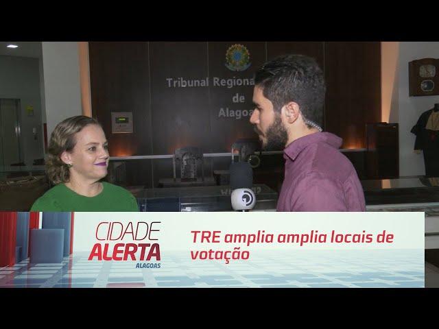 Tribunal Regional Eleitoral amplia locais de votação em Maceió