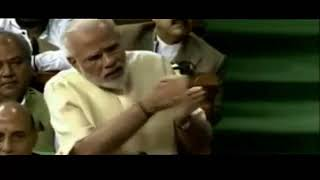 humourous reply of modi in loksabha