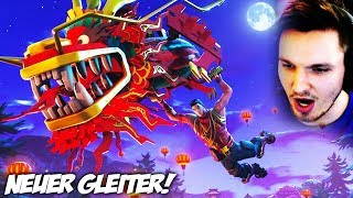 🔴FORTNITE BATTLE ROYALE - NEUER GLEITER HYPE !!!