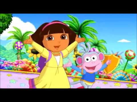 Dora PortguesBR - Salva A Terra Dos Contos de Fada Episodio 01