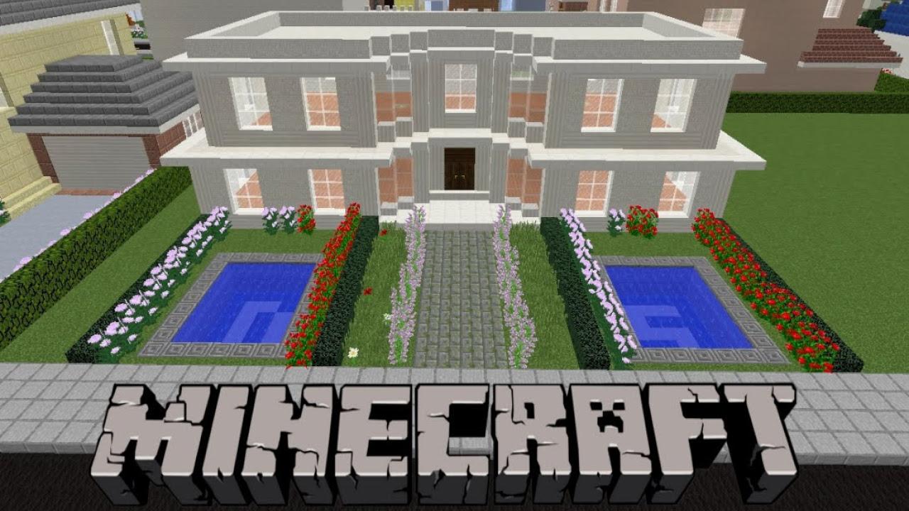 Minecraft: Havuzlu Villa Yapımı (Düşler Şehri)