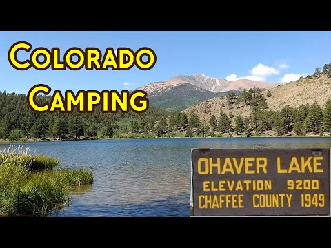 Colorado Camping - O'haver Lake