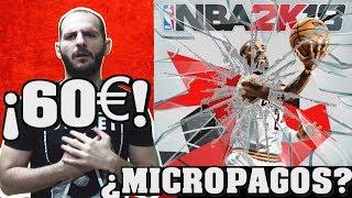 ¡¡¡LOS MICROPAGOS SE HAN CARGADO A NBA 2K18!!! - Sasel - Noticias - Pc - Ps4 - Español