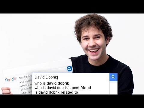 David Dobrik Answers the Web's Most Searched Questions | WIR