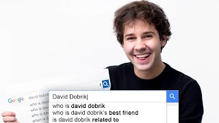 David Dobrik Answers the Web's Most Searched Questions | WIRED Video