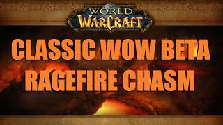 Ragefire Chasm: Lvl 16 Warrior Tank (Full Run) - Classic WoW Beta Gameplay