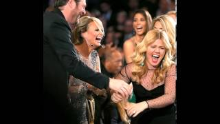 Kelly Clarkson Tennessee Waltz(You Make Me Feel Like)A Natural Woman Feb 10, 2013(AUDIO)