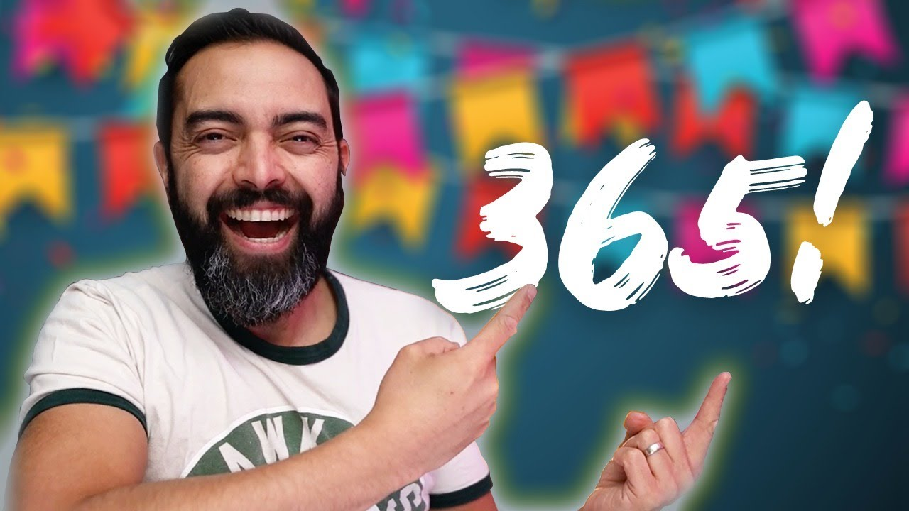 CELEBRATING 365 CONSECUTIVE DAYS of The Income Stream (for 365 Minutes!)